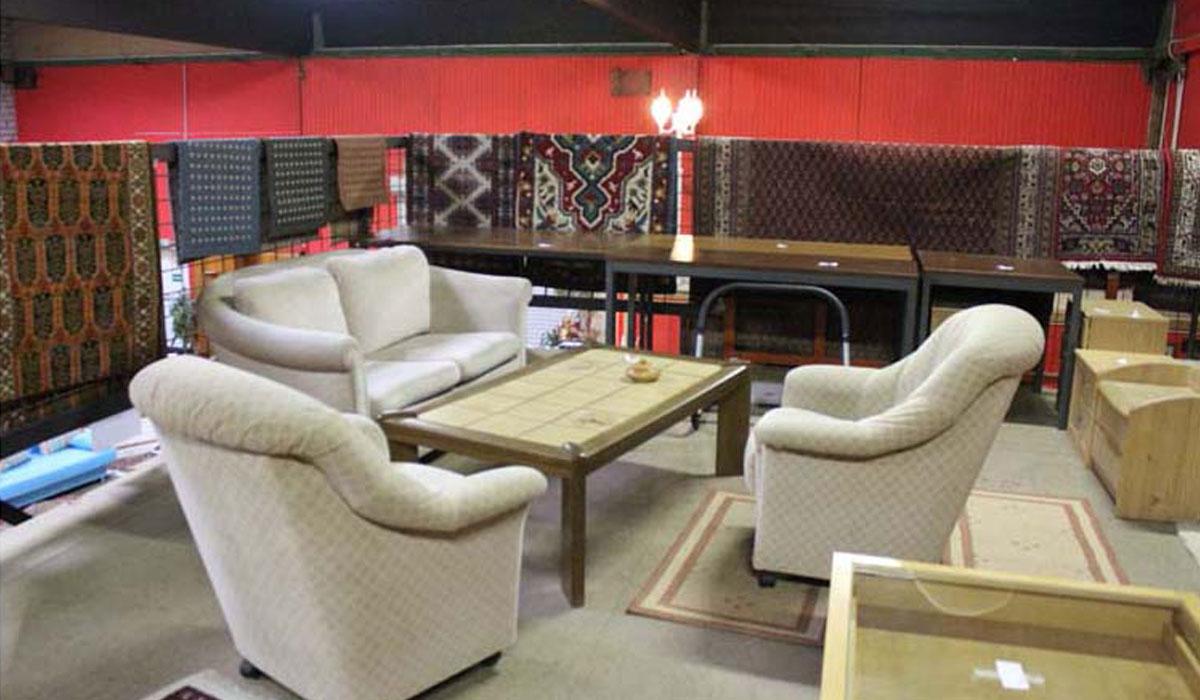 Gebrauchtwaren Kaufhaus Sessel